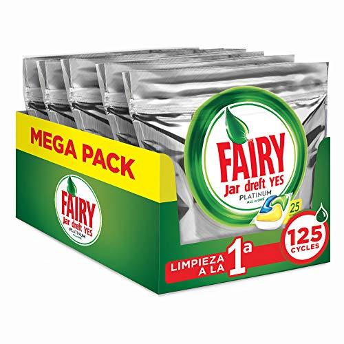 ¡Chollazo! Fairy Platinum limón a menos de 0,11€/lavado (Promo P&G)