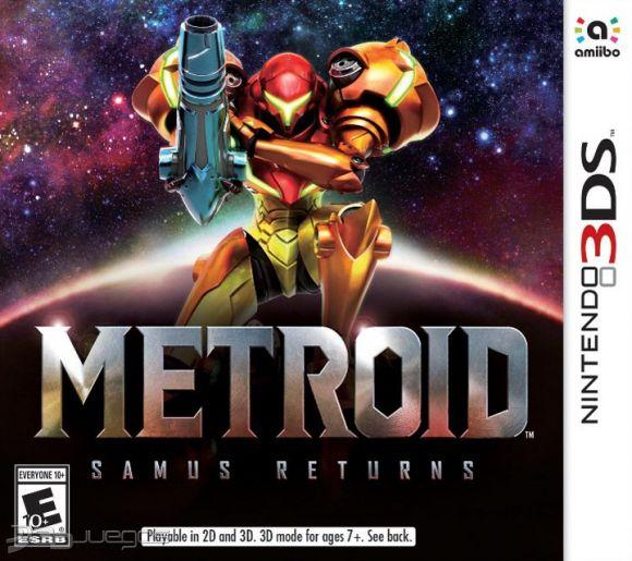 METROID SAMUS RETURNS NINTENDO 3DS