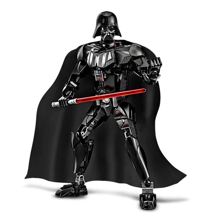 Figura 3D Darth Vader de 26 cm