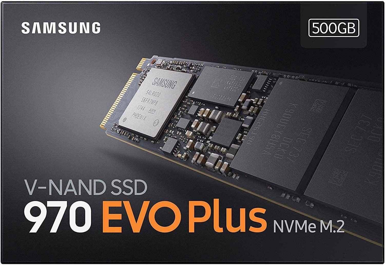 Samsung 970 EVO Plus 500GB SSD NVMe M.2