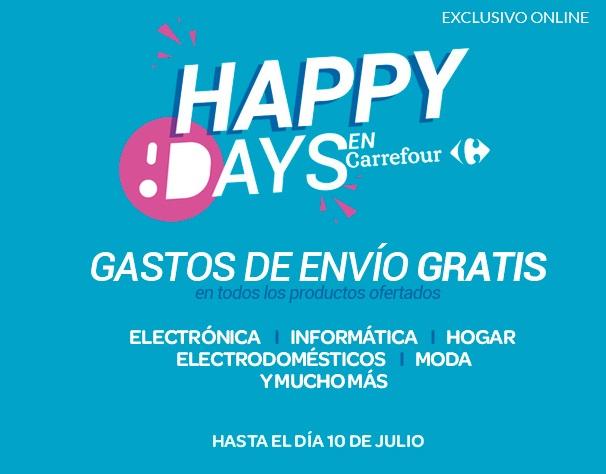 Happy Days Carrefour con envío GRATIS