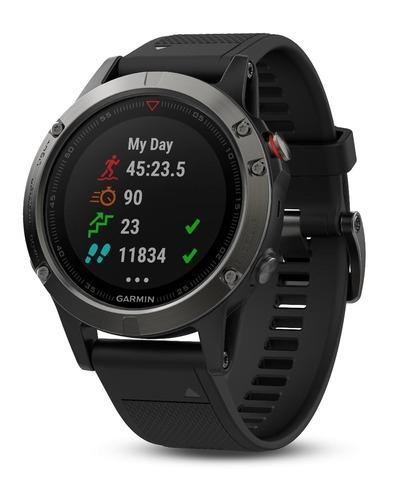 Garmin Fenix 5 con GPS y medidor de frecuencia cardiaca