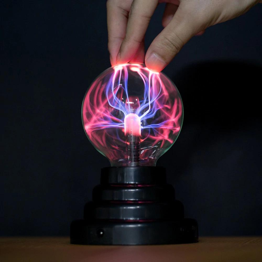 Lámpara esférica de plasma