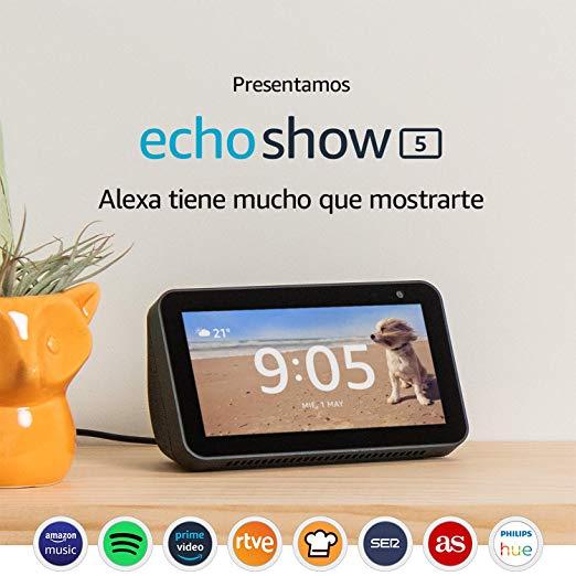 Echo Show 5 a 77,50€ cada uno comprando 2 unidades