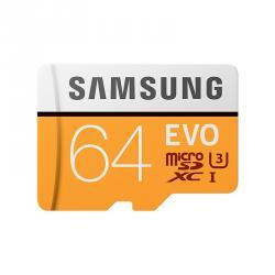 Samsung MicroSDXC EVO 64GB Clase 10 + Adaptador