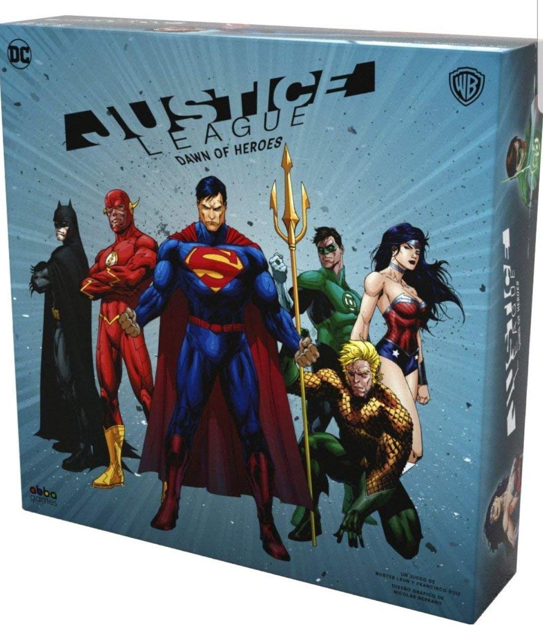 Justice League: Down of heroes (Juego de mesa)