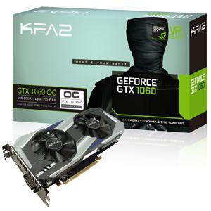 KFA2 Geforce GTX 1060 6Gb solo 149€