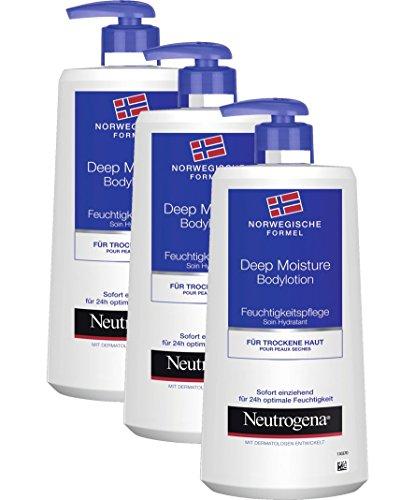Neutrogena Loción Hidratación Profunda - 3 Unidades x 400 ml.
