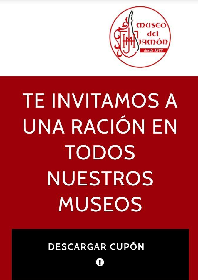 Te invitan a una ración en el Museo del Jamón