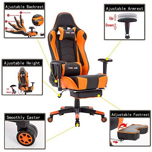 Silla Gaming Storm Racer (Orange-T)
