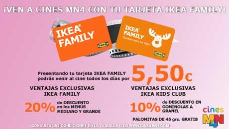 Cines MN4 - Tarjeta Ikea (Valencia)