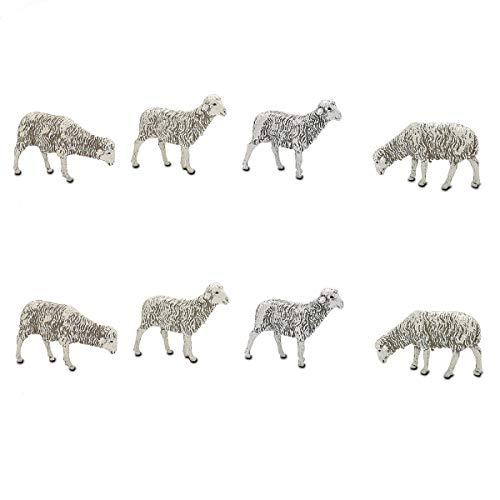8 ovejitas para el Belén a 0,84€ (REACO)