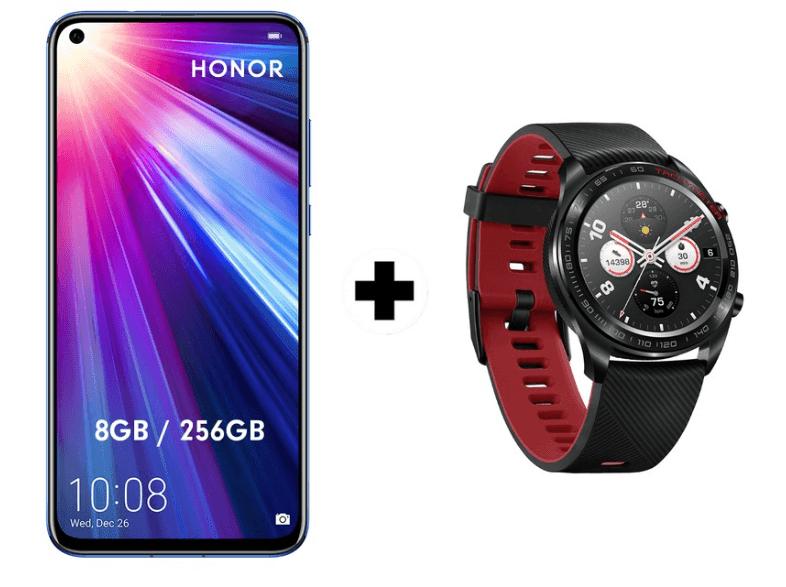 Honor View 20 8GB/256GB + Huawei Watch GT