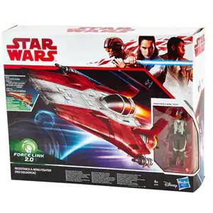 [AlCampo]  Red Squadron, 1 Nave + 1 Figura (Star wars)