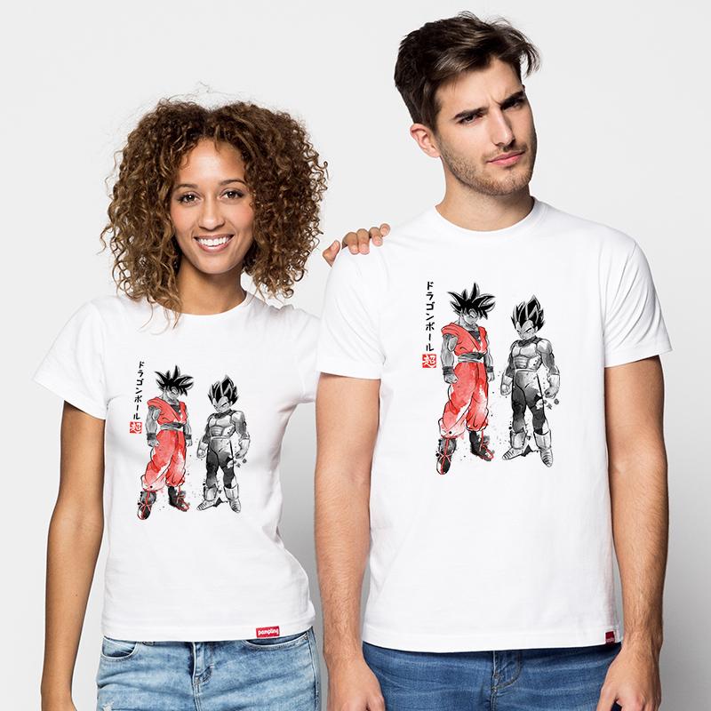 Camiseta Saiyan Warriors Chica/Chico/Niños