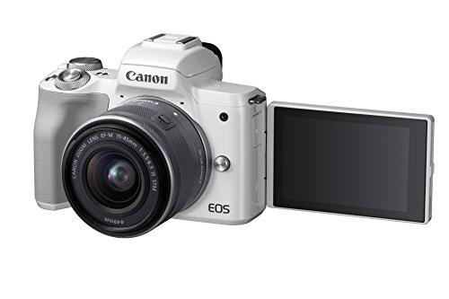Canon EOS M50 Kit con objetivo color Blanco