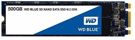 SSD M.2 SATA  WD Blue 500GB 3D NAND Internal