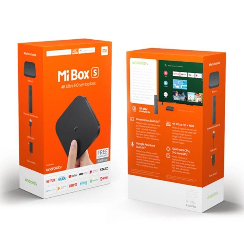 Mi TV Box s + Funda de mando