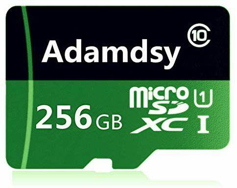 Micro SD 256GB Class 10 + Adaptador
