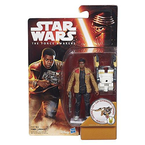 STAR WARS - Figura Finn Jakku, 9 cm (Hasbro B3967ES0)