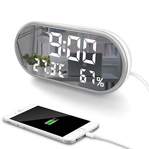 Reloj Despertador Digital LED -  LCD+Dual