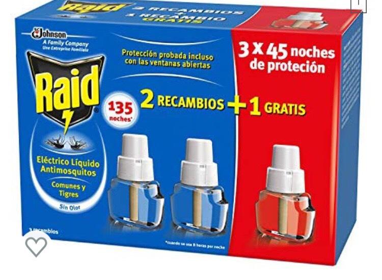 Buen precio recambios insecticida Raid