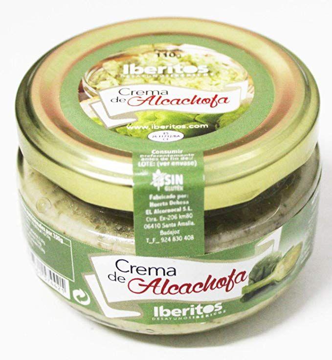 6 Iberitos paté de alcachofa 110g