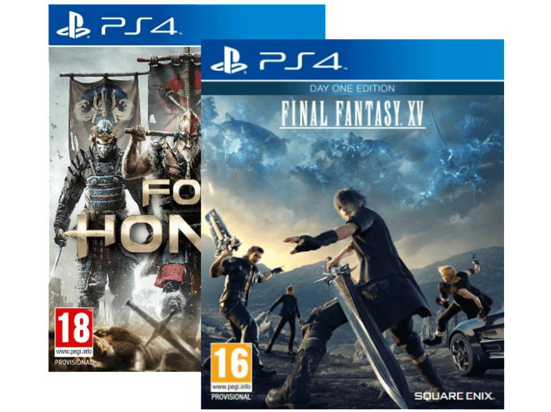 PS4 For Honor + Final Fantasy XV