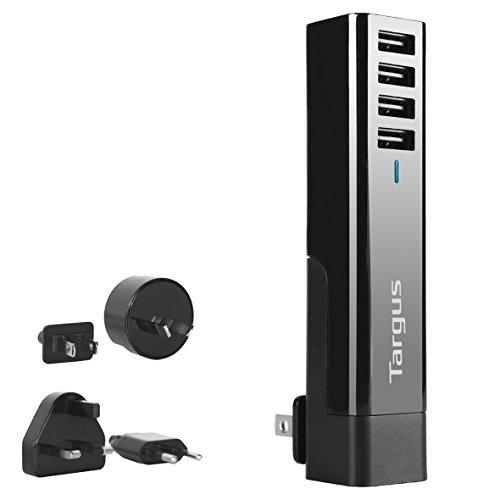 Targus - Cargador rápido USB de 4 tomas
