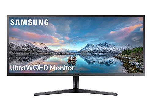 """Monitor Samsung LS34J550WQU - 34"""" 4k"""