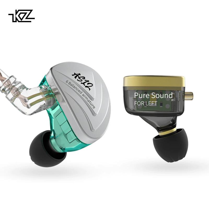 Nuevos Auriculares KZ AS12, 6BA