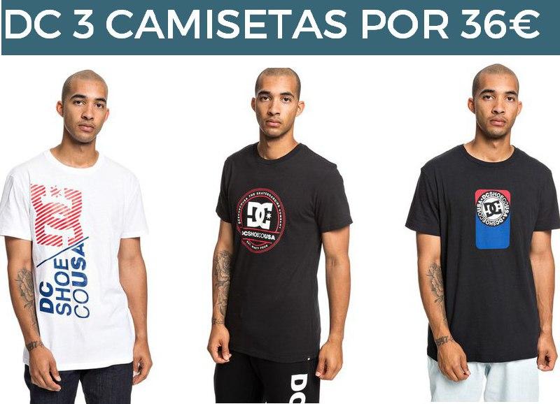 Camisetas DC hasta 50% + 10% + 10% + 15% + envío gratis