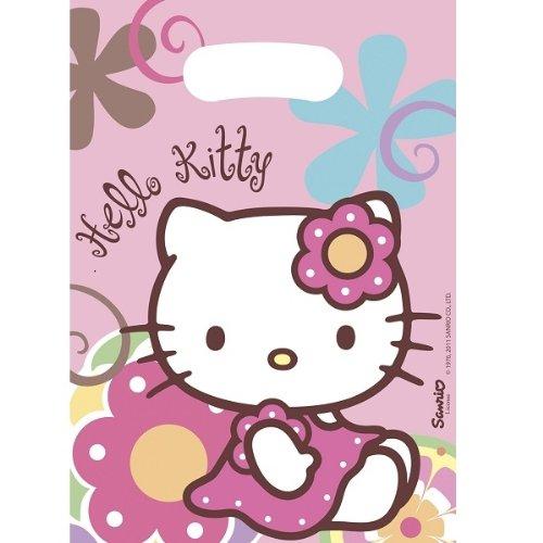 6 bolsas regalo de Hello Kitty por 0,30€ (sin stock)