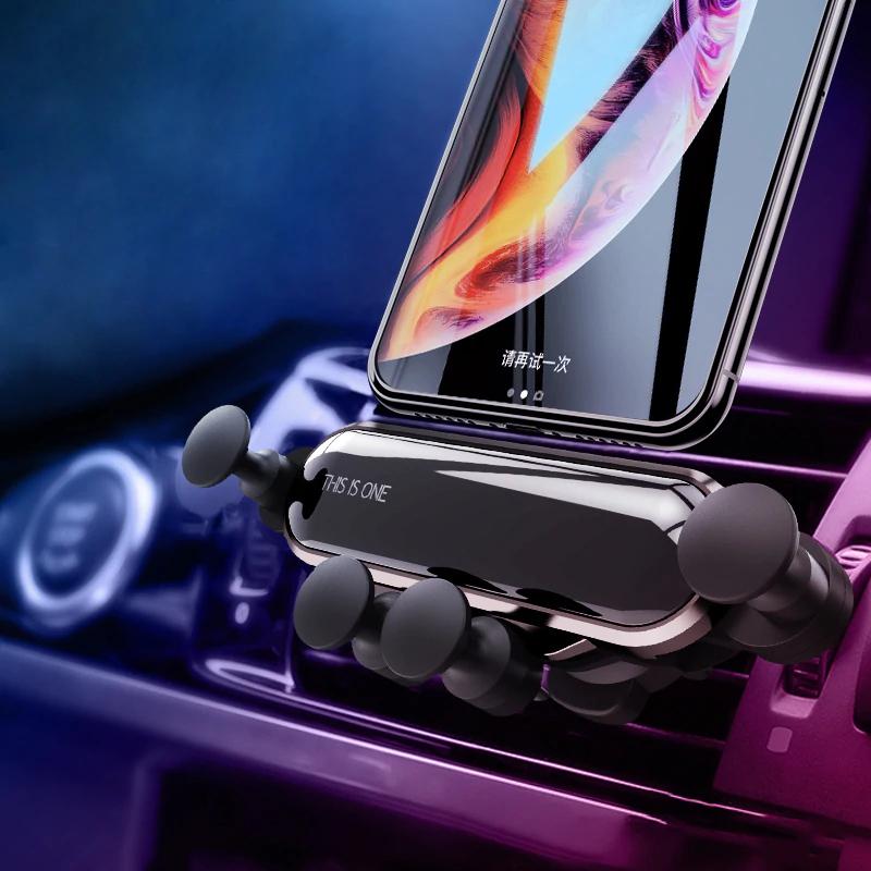 Soporte de smartphone/teléfono/móvil para rejilla ventilación coche solo 2.13€