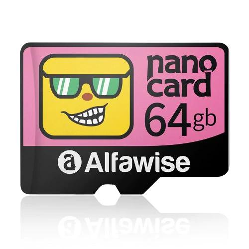 Tarjeta de memoria Micro SD Alfawise 64GB