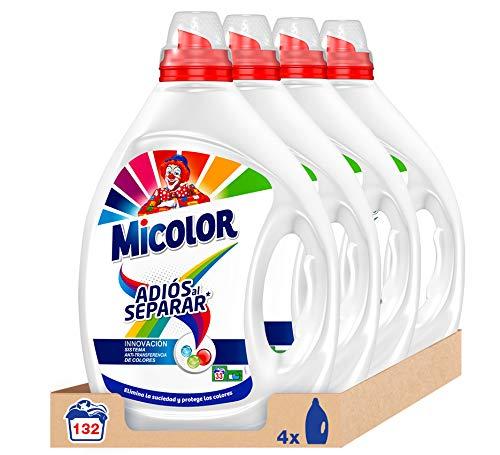 Pack 4 Detergente MiColor 132 Lavados (6.6 L)