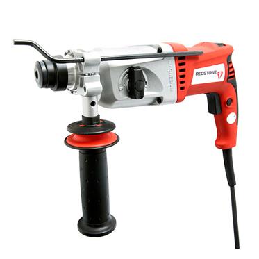 Taladro martillo perforador SDS-PLUS 900W + 2 cinceles + 3 brocas + cabezal a broca estándar