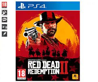 Red Dead Redemption II PS4 en  Alcampo de Portsaplaya (Valencia).