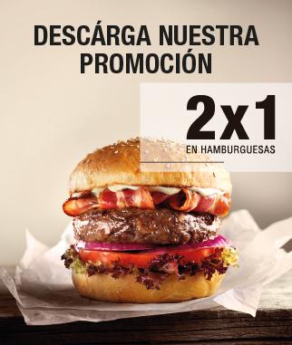 Hamburguesa Nostra 2X1 Madrid