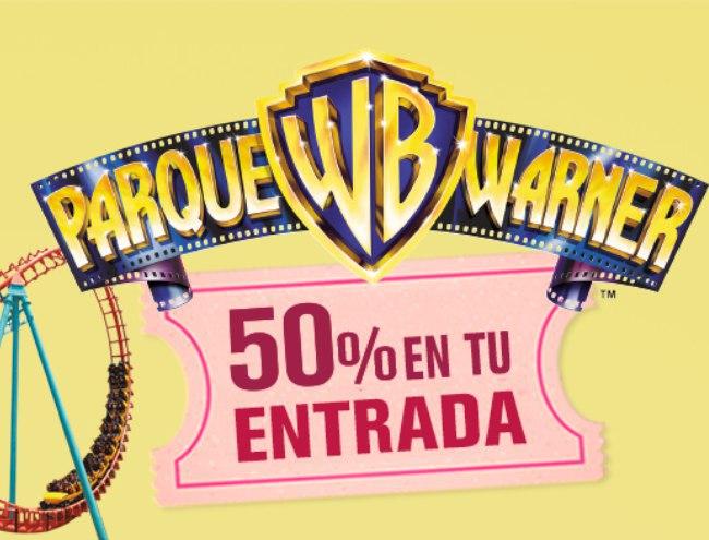 50% de descuento en tus entradas a la Warner Bros de Madrid comprando Sunny Delight