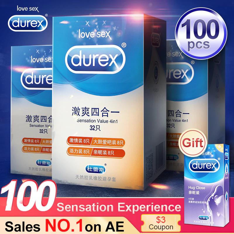 100 Condones tirados de precio