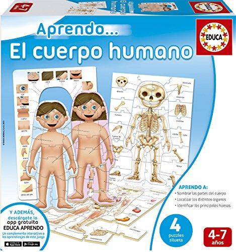 Puzzle Cuerpo humano (4 en 1)
