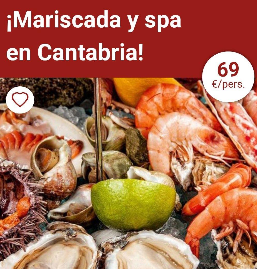 SEPTIEMBRE 2 noches Hotel + Mariscada + desayunos + spa en CANTABRIA