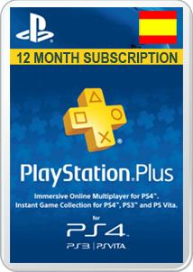Suscripción 12 Meses PSN Plus por solo 39.90€!