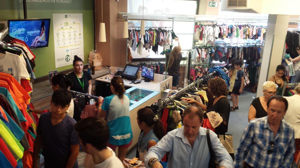 Tiendas Humana Toda la ropa a 1€