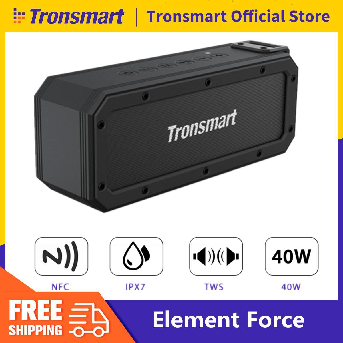 TRONSMART Element Force TWS 40W potencia BT 5.0 NFC Google assistant