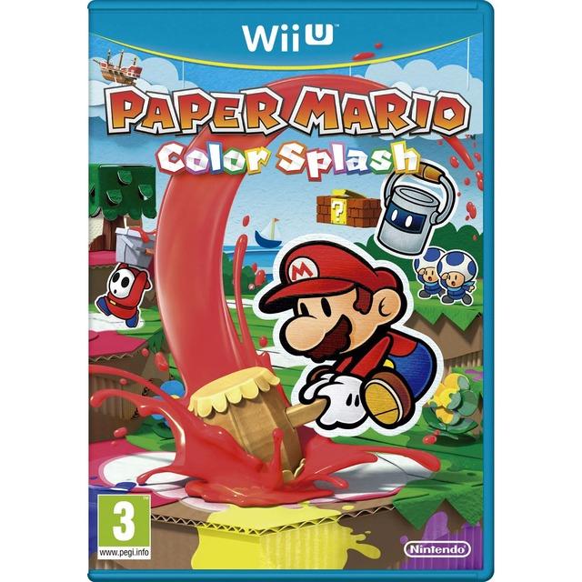 Paper Mario Color Splash Wii U (9,90€)
