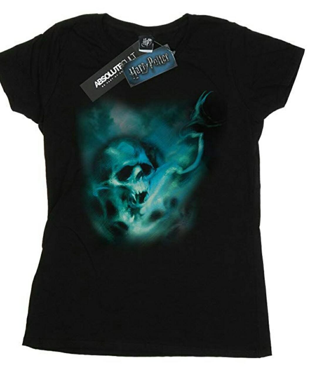 HARRY POTTER Mujer Voldemort Dark Mark Mist Camiseta