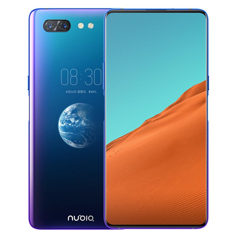Nubia X Phablet 4G de Versión Internacional con Pantalla Dual - Azul Océano