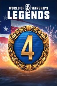 """XBOX ONE: Paquete """"Liberty"""" para World of Warships (GRATIS) - Incluye 4 días de cuenta Premium y más."""